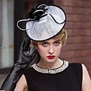 Χαμηλού Κόστους Προσκλητήρια Γάμου-Λινάρι Kentucky Derby Hat / Γοητευτικά / Καπέλα με 1 Γάμου / Ειδική Περίσταση / Causal Headpiece