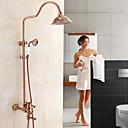 ราคาถูก ก๊อกฝักบัว-ห้องอาบน้ำฝักบัวก๊อกน้ำ - ประเทศเพิ่มขึ้นทองศูนย์ชุดวาล์วเซรามิกห้องอาบน้ำฝักบัวอาบน้ำก๊อกผสม