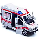ราคาถูก รถของเล่น-ดึงกลับยานพาหนะ ยานพาหนะรถพยาบาล ทุกเพศ Toy ของขวัญ / Metal