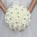 """זול פרחי חתונה-פרחי חתונה זרים חתונה אבן נוצצת / קֶצֶף 11.02""""(לערך.28ס""""מ)"""