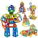 billiga Skärmskydd till iPhone-Magnetiskt block Magnetiska plattor Byggklossar 31-109 pcs Bilar Robotar Pariserhjul kompatibel Legoing Magnet Originella Leksaker Present
