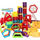 cheap Magnetic Building Blocks-Magnetic Blocks Magnetic Tiles Building Blocks 31-109 pcs Car Robot Ferris Wheel compatible Legoing Magnetic Novelty Toy Gift