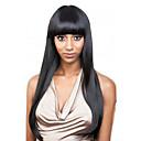 Χαμηλού Κόστους Περούκες από Ανθρώπινη Τρίχα-Φυσικά μαλλιά Δαντέλα Μπροστά Χωρίς Κόλλα Δαντέλα Μπροστά Περούκα στυλ Βραζιλιάνικη Ίσιο Περούκα 130% Πυκνότητα μαλλιών με τα μαλλιά μωρών Φυσική γραμμή των μαλλιών Περούκα αφροαμερικανικό στυλ 100