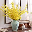 billiga Pengar och bank-Konstgjorda blommor 10 Gren Modern Stil Orkidéer Bordsblomma