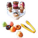 ราคาถูก ชุดเครื่องครัวและทำอาหารของเล่น-อาหารของเล่น เล่นครัว เหมือนจริง ไอศครีม พลาสติก สำหรับเด็ก ทุกเพศ Toy ของขวัญ