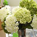Χαμηλού Κόστους Ψεύτικα Λουλούδια-Ψεύτικα λουλούδια 1 Κλαδί Ευρωπαϊκό Στυλ Ορτανσίες Λουλούδι για Τραπέζι