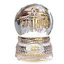 billiga Speldosor-Speldosa Snö Globe Karusell Merry Go Round Söt Barn Vuxen Present Kristall Flickor Present