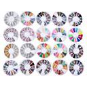 billiga folie Papper-Glitters Mode Neon & Bright Hög kvalitet Dagligen Nail Art Design