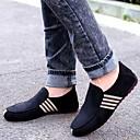 Χαμηλού Κόστους Ανδρικά Φορετά & Μοκασίνια-Ανδρικά Suede παπούτσια Σουέτ Καλοκαίρι / Φθινόπωρο Ανατομικό / Svítící podrážky Μοκασίνια & Ευκολόφορετα Περπάτημα Μαύρο / Σκούρο μπλε / Διαφορετικά Υφάσματα / Γραφείο & Καριέρα / EU42