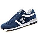 ราคาถูก รองเท้ากีฬาสำหรับผู้ชาย-สำหรับผู้ชาย รองเท้า PU ฤดูใบไม้ผลิ / ตก ความสะดวกสบาย รองเท้ากีฬา สำหรับวิ่ง สีดำ / น้ำเงินเข้ม / สีเทา