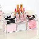 ราคาถูก กล่อง กระเป๋า และกระปุก-เครื่องมือแต่งหน้า Cosmetics Storage แต่งหน้า 1 pcs อะคริลิค Quadrate ทุกวัน ประทิ่น Grooming Supplies