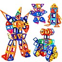 זול בלוקים משולבים-בלוק מגנטי אריחים מגנטיים אבני בניין 228 pcs רובוט צעצוע של סיאם תואם Legoing מגנטי בנים בנות צעצועים מתנות
