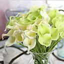 Χαμηλού Κόστους Ψεύτικα Λουλούδια-Ψεύτικα λουλούδια 10 Κλαδί Μοντέρνο Στυλ Κάλλες Λουλούδι για Τραπέζι