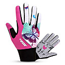 cheap Cycling Shoes-BAT FOX Winter Bike Gloves / Cycling Gloves Mountain Bike Gloves Mountain Bike MTB Breathable Anti-Slip Shockproof Protective Full Finger Gloves Sports Gloves Lycra Mesh Fuchsia for Adults' Outdoor