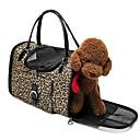 ราคาถูก อุปกรณ์ดูแลสุนัข-แมว สุนัข ให้บริการ & เป้เดินทาง ด้านหน้ากระเป๋าเป้สะพายหลัง ที่คลุมเบาะรถยนต์ สัตว์เลี้ยง ผู้ขนส่ง Portable ระบายอากาศ สองด้าน ลายเสือ สีดำ