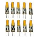 Χαμηλού Κόστους Τροφοδοτικό-1.5W G4 LED Φώτα με 2 pin T 1 LEDs COB Διακοσμητικό Θερμό Λευκό Ψυχρό Λευκό 250lm 2700-3500/6000-6500