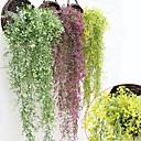 Χαμηλού Κόστους Αξεσουάρ για εργαλεία κουζίνας-Ψεύτικα λουλούδια 1 Κλαδί Ποιμενικό Στυλ Φυτά Καλάθι Λουλούδι