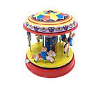 ราคาถูก บล็อกอาคาร-Trekk-opp-leker น่ารัก Horse Carousel Merry Go Round เมทัลลิก เหล็ก 1 pcs สำหรับเด็ก เด็กผู้ชาย เด็กผู้หญิง Toy ของขวัญ