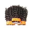 billiga Fläta av remy-människohår-Äkta hår Fläta av remy-människohår Lockigt Malaysiskt hår 300 g 1 år