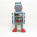 ราคาถูก ของเล่นไขลาน-Robot Trekk-opp-leker เครื่องจักร Robot เมทัลลิก เหล็ก การ์ตูนอานิเมะ 1 pcs สำหรับเด็ก เด็กผู้ชาย เด็กผู้หญิง Toy ของขวัญ