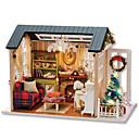 ราคาถูก บ้านตุ๊กตา-กล่องดนตรี ปริศนาไม้ Dukkehus DIY บ้าน ไม้ สำหรับเด็ก ผู้ใหญ่ ทุกเพศ เด็กผู้ชาย เด็กผู้หญิง Toy ของขวัญ