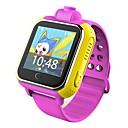 baratos Smartwatches-q730 criança relógio inteligente com câmera bt 4.0 aptidão tracker suporte notificar & gps smartwatch