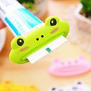 billige Baderomsgadgeter-1 stk dyr enkel tannpasta dispenser plast tannpasta rør klemmer nyttig tannkrem rulleholder for hjemmebad