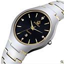 ราคาถูก เสื้อยืดปีนเขา-สำหรับผู้ชาย นาฬิกาแนวสปอร์ต นาฬิกาแฟชั่น นาฬิกาอิเล็กทรอนิกส์ (Quartz) เงิน 30 m ระบบอนาล็อก สีทอง สีดำ