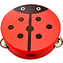 billiga Leksaksinstrument-Tamburin Leksaksinstrument Cirkelrunda Unisex