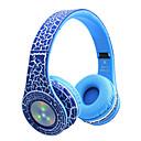 billige Hodetelefoner på øret og over øret-soyto STN-17 Over-øret hodetelefon Trådløs Reise og underholdning V3.0 Selvlysende Støyisolerende Med mikrofon