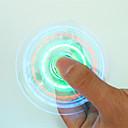 ราคาถูก ฟิดเจตสปินเนอร์-Hand spinne Fidget Spinner เครื่องปั่นด้ายมือ สำหรับเวลาฆ่า ความเครียดและความวิตกกังวลบรรเทา โฟกัสของเล่น เครื่องปั่นด้าย LED คริสตัล พลาสติก คลาสสิก สำหรับเด็ก ผู้ใหญ่ เด็กผู้ชาย Toy ของขวัญ