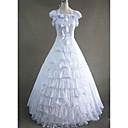 Χαμηλού Κόστους Στολές της παλιάς εποχής-Γκόθικ Victorian Μεσαίωνα 18ος αιώνας Φορέματα Κοστούμι πάρτι Χορός μεταμφιεσμένων Γυναικεία Σιφόν Βαμβάκι Στολές Πεπαλαιωμένο Cosplay Πάρτι Χοροεσπερίδα Αμάνικο Μακρύ Μεγάλα Μεγέθη Προσαρμοσμένη