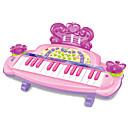 billige Lekeinstrumenter-Tilbehør til dukkehus Elektronisk keyboard Piano Moro Plastikker Barne Jente Leketøy Gave