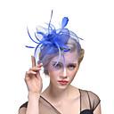 povoljno Party pokrivala za glavu-Til Fascinators s Perje 1 Zabave Glava