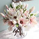 Χαμηλού Κόστους Ψεύτικα Λουλούδια & Βάζα-Ψεύτικα λουλούδια 1 Κλαδί Ευρωπαϊκό Στυλ Μαγνολία Λουλούδι για Τραπέζι