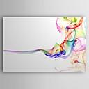 povoljno Apstraktno slikarstvo-Hang oslikana uljanim bojama Ručno oslikana - Sažetak Suvremena Umjetnički stil Uključi Unutarnji okvir / Prošireni platno