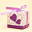 abordables Soportes para Regalo-De Forma Cúbica Papel de tarjeta Soporte para regalo  con Cintas Cajas de regalos