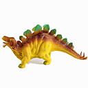 billiga Moderingar-Drakar och dinousaurier Dinosaur Figur Triceratops Jurassic Dinosaur Stegosaurus Plast Klassisk & Tidlös Barn Pojkar Flickor Leksaker Present