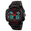 ราคาถูก Smartwatches-skmei 1270 นาฬิกาสปอร์ตสนับสนุนกันน้ำ / กีฬานาฬิกาจับเวลา / นาฬิกาปลุก / โครโนกราฟ / ปฏิทิน / โซนเวลาคู่