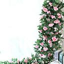 Χαμηλού Κόστους Ψεύτικα Λουλούδια-Ψεύτικα λουλούδια 1 Κλαδί Ποιμενικό Στυλ Τριαντάφυλλα Λουλούδι Τοίχου