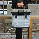 Χαμηλού Κόστους Κουτιά για Σύνεργα Ψαρέματος-Κουτί Εργαλείων Πλαίσιο Καθίσματος 4 Δίσκοι Βαθμός Α ABS 27 cm*18 inch*17 cm
