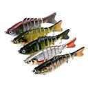 ราคาถูก เหยื่อตกปลา-5 pcs Jerkbaits Minnow Sinking Bass ปลาเทราท์ หอก ตกปลาทะเล Spinning อุปกรณ์ตกปลาบาส / เหยื่อตกปลา / การตกปลาทั่วไป / รอก & ตกปลาบนเรือ