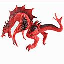 ราคาถูก ฟิกเกอร์ไดโนเสาร์-มังกรและไดโนเสาร์ Model Building Kits มังกร Triceratops ตัวเลขไดโนเสาร์ พลาสติก คลาสสิกและถาวร สำหรับเด็ก Toy ของขวัญ