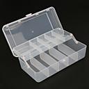 ราคาถูก วิกผมคอสตูม-กล่องของขวัญ Tackle Box 2 Trays Plastics 20 cm*10ซม.*6 cm / ตกปลาทะเล / Fly Fishing / เบทคาสติ้ง / ตกปลาบนธารน้ำแข็ง / Spinning