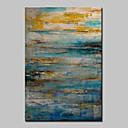 billige Abstrakte malerier-Hang malte oljemaleri Håndmalte - Abstrakt Klassisk Moderne Inkluder indre ramme / Stretched Canvas