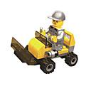 ราคาถูก บล็อกอาคาร-Building Blocks Block Minifigures ของเล่นชุดก่อสร้าง ของเล่นการศึกษา ถัง Dozer ทุกเพศ เด็กผู้ชาย เด็กผู้หญิง Toy ของขวัญ