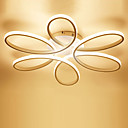 billiga Cirkeldesign-Linjär Utomhus Glödande Målad Finishes Metall Kiselgel LED 110-120V / 220-240V Varmt vit / Vit / Dimbar med fjärrkontroll