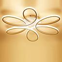 povoljno Stropna svjetla i ventilatori-Linear Flush Svjetla Ambient Light Slikano završi Metal silika gel LED 110-120V / 220-240V Meleg fehér / Bijela / Zatamnjen daljinskim upravljačem