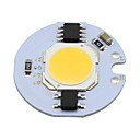 billiga Temporära färger-1pc 3w ledd cob chip smart ic 220v för diy för floodlight spot light cold vit varm vit