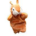 ราคาถูก หุ่นกระบอก-Finger Puppet Puppets น่ารัก สัตว์ต่างๆ Squirrel ผ้าหรูหรา Plush สำหรับเด็ก Toy ของขวัญ